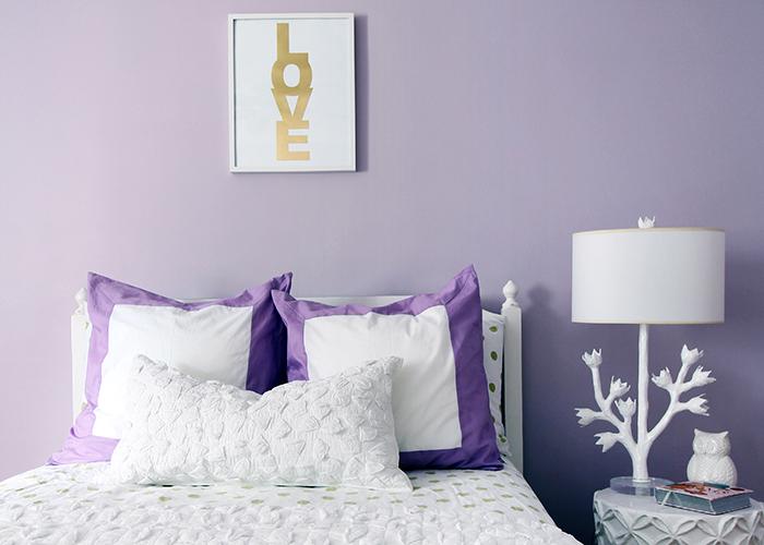 Image result for lavender room white gold
