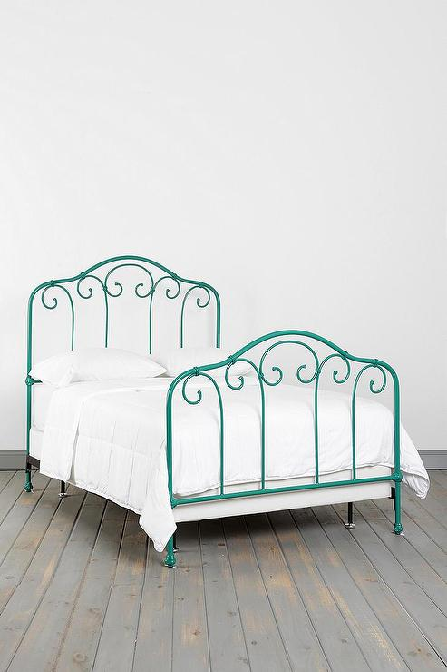 Plum Amp Bow Callin Iron Bed I Urban Outfitters