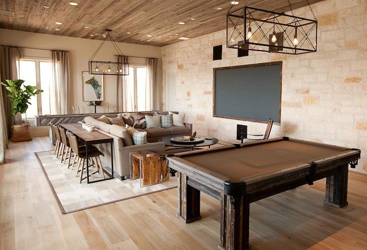 TV Room Ideas Country Media Room Tracy Hardenburg