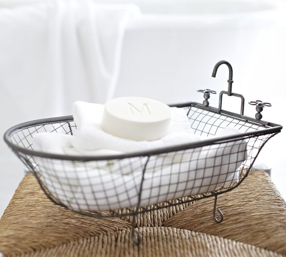 Pottery Barn Mesh Catchall Look 4 Less