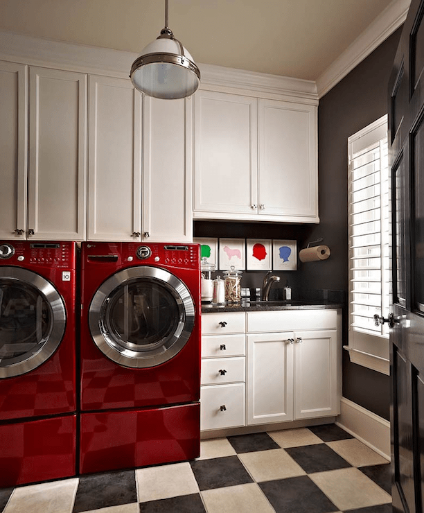 laundry room ideas contemporary laundry room traci on paint for laundry room floor ideas images id=47257