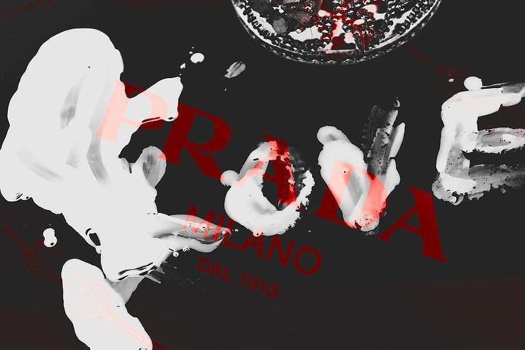 Black White Red Prada Love Photograph By Lisa Eryn