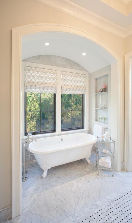 Bathtub Alcove Transitional Bathroom Scott