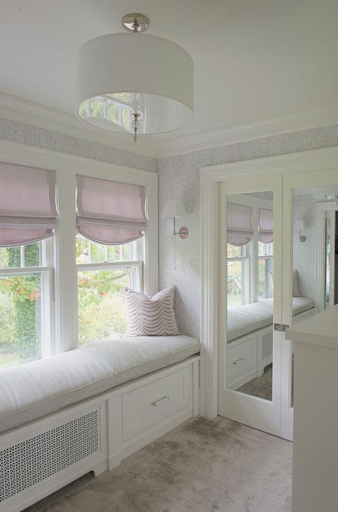 Dressing Room Window Seat Design Ideas