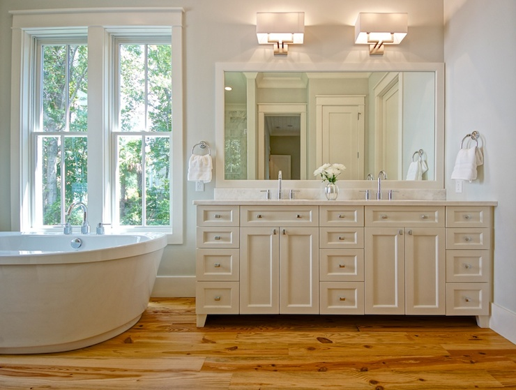 Ivory Powder Room