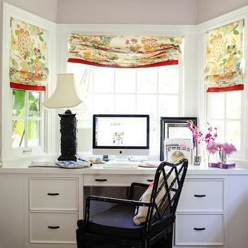 Bay Window Desk Eclectic Den Library Office Refinery 29
