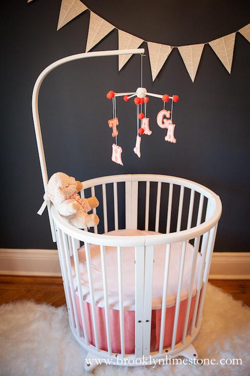 Stokke Sleepi Crib Contemporary Nursery Martha Stewart Wrought Iron Brooklyn Limestone