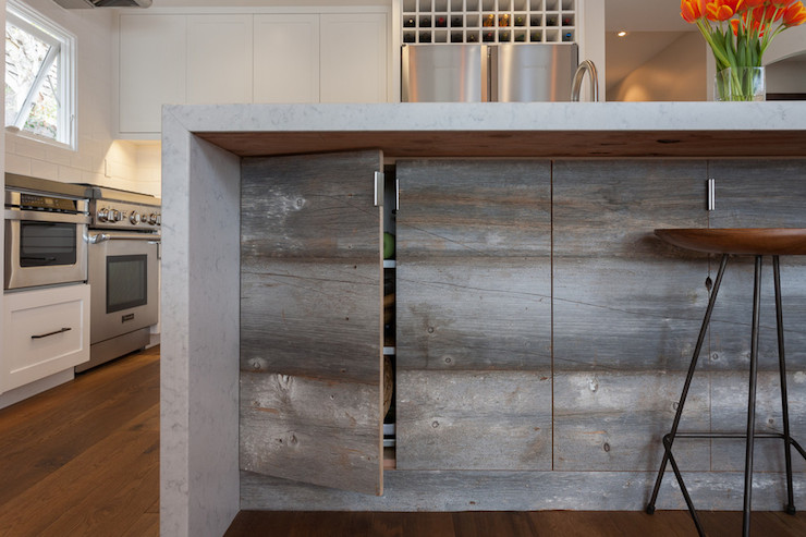 Concealed Cabinets Transitional Kitchen Eric Aust Architect