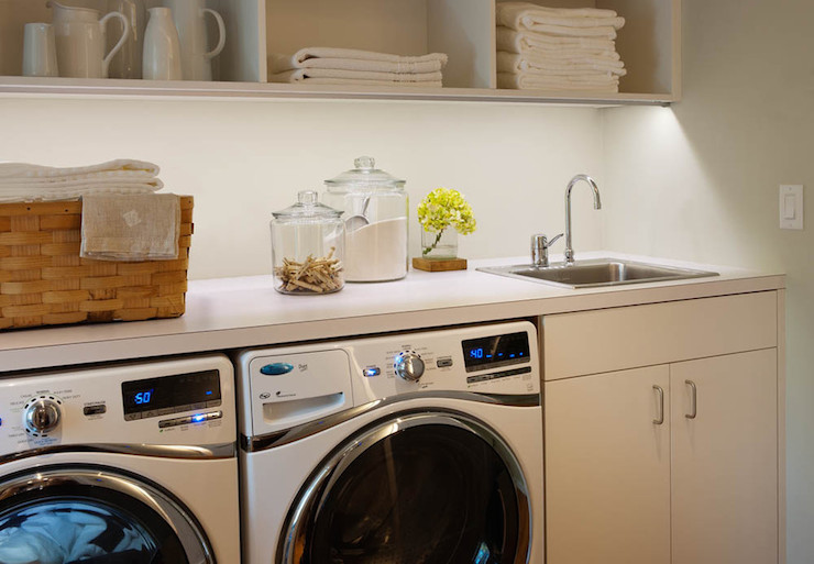 Laundry Room Sink Traditional Laundry Room Crown Point Cabinetry