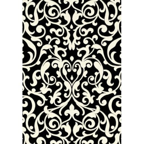 Celine Arabesque Black And White Fabric