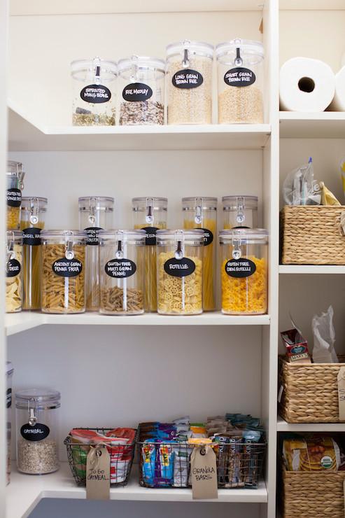 food storage ideas - traditional - kitchen - neat method
