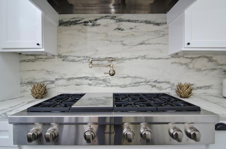 transitional kitchen case design