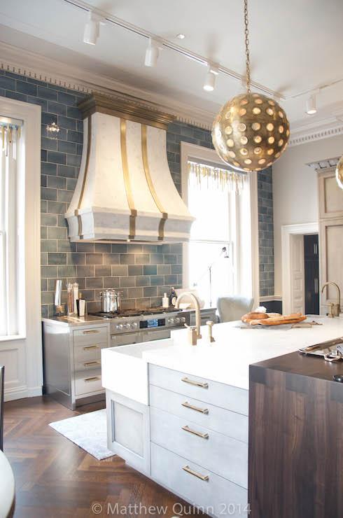 Corner Kitchen Sink Contemporary Kitchen Matthew Quinn Design