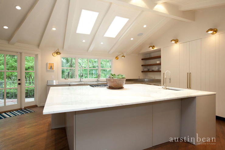 Extra Large Kitchen Island Contemporary Kitchen