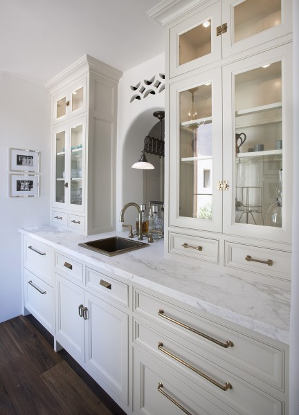 Pantry Cabinets Country Kitchen BHG