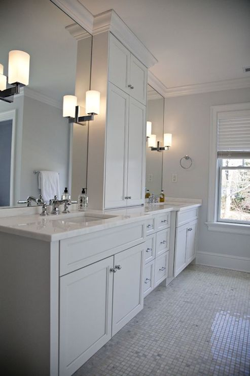 His And Her Bathroom Vanities Design Ideas