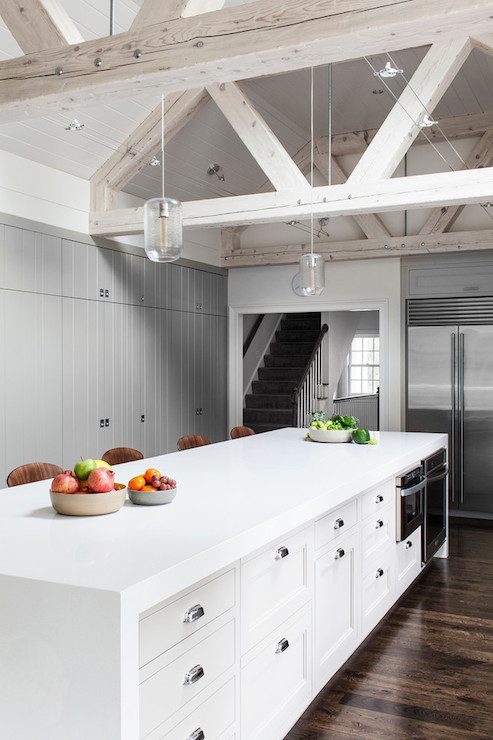 vaulted kitchen ceiling track lighting