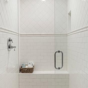 chair rail tile design ideas
