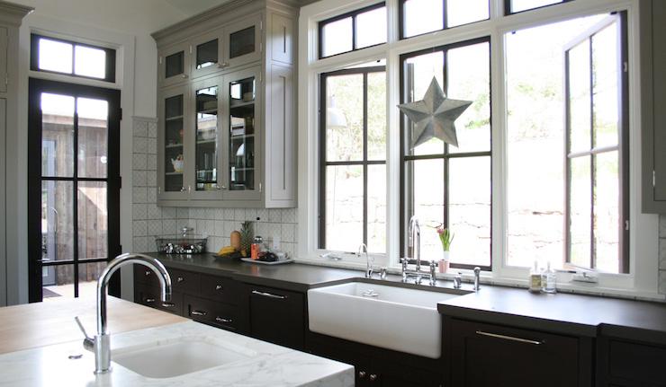 2 Tone Kitchen Cabinets Contemporary Kitchen Castor