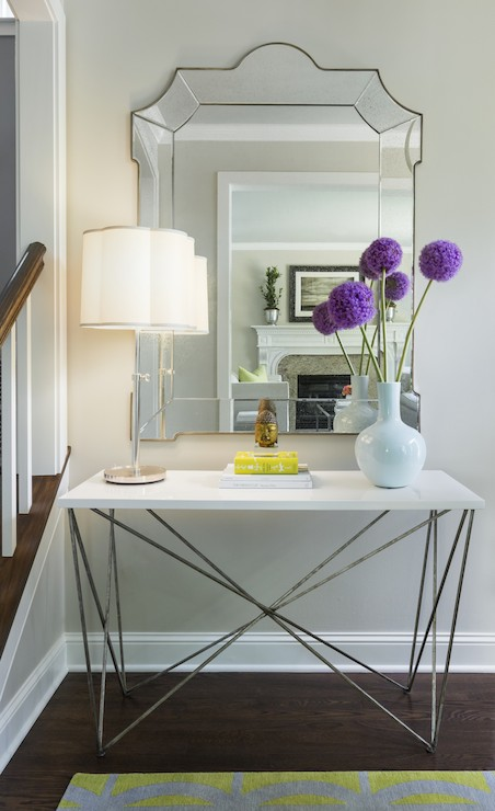 Oly Studio George Console Table Contemporary Entrance
