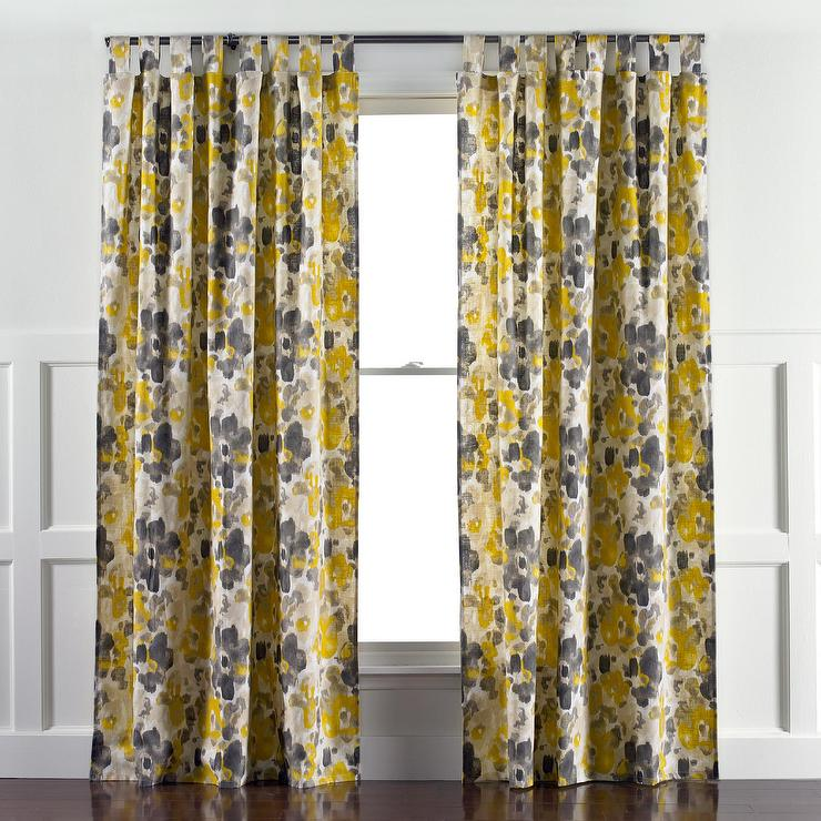 Linen Cotton Grommet Window Panel Desert Marigold West Elm