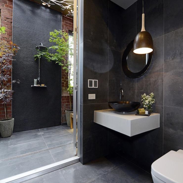 Outdoor Bathroom Ideas - Modern - bathroom - The Block ... on Backyard Bathroom Ideas  id=35809