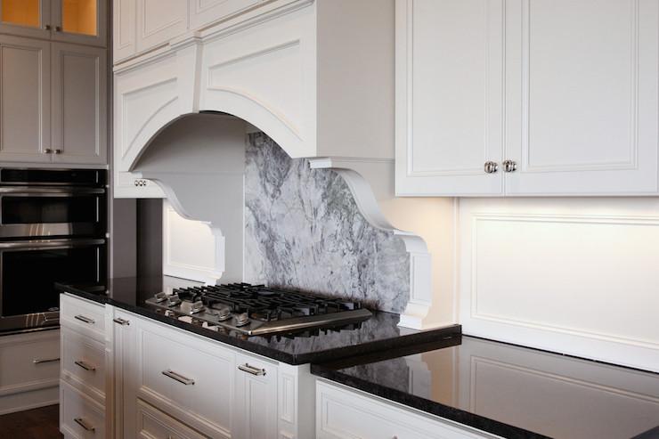 Nordic Black Granite Countertops - Transitional - Kitchen ... on Backsplash For Black Granite  id=66768