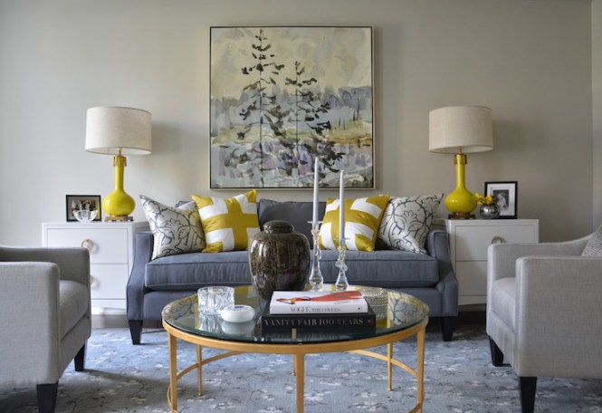 Elegant Blue And Yellow Living Room 20 Amazing Black White Rooms Home Design