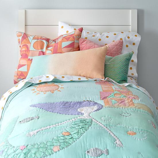Mermaid Pink Quilt
