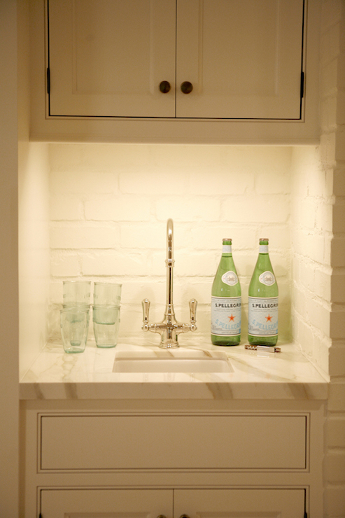 under the stairs wet bar contemporary