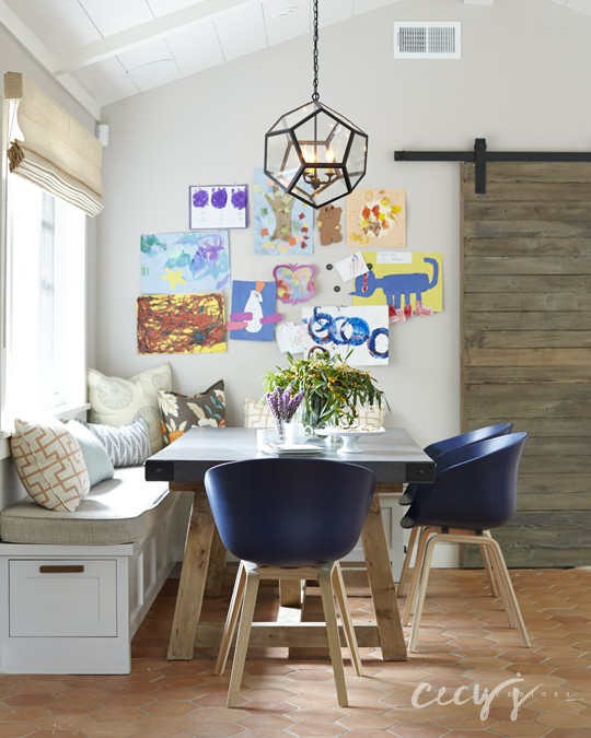 Kid Friendly Dining Room Decorating Ideas