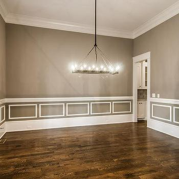 Dining Room With Chair Rail Design Ideas