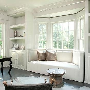 Curved Bay Window Window Seat Design Ideas