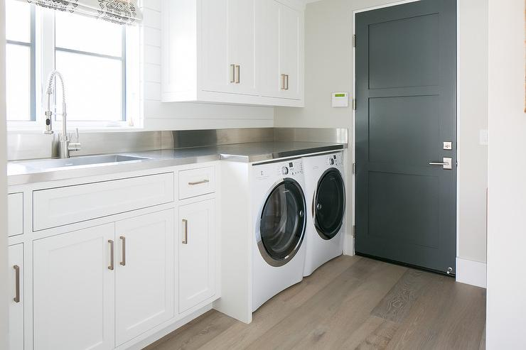 laundry room stainless steel