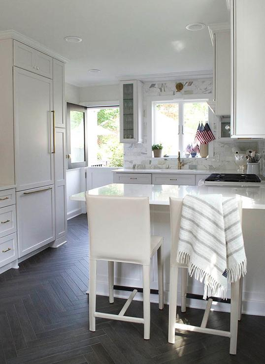 White Kitchen Wall Tiles Ideas