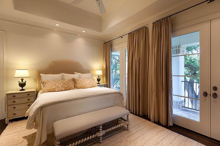 Bedroom Tray Ceiling Fan Design Ideas