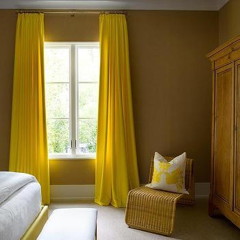 Chocolate Brown Bedroom Walls Design Ideas