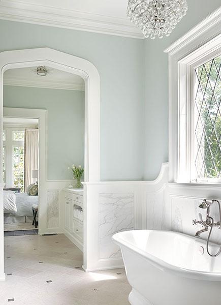 blue hand painted bathroom walls design ideas on blue paint bathroom ideas exterior id=24325
