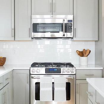 microwave above stove design ideas