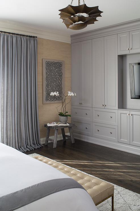 Bedroom Flatscreen Tv Niche Design Ideas