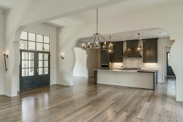 Tan Kitchen Cabinets Transitional Kitchen Farrow And
