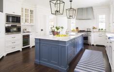 14+ Exciting Blue Kitchen Island You'll Fall In Love