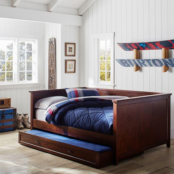 Tribeca Beige Tufted Daybed With Trundle