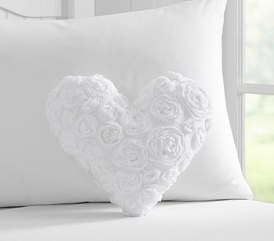 Lily Linen Ruffle Decorative Throw Pillow A Cottage In The City
