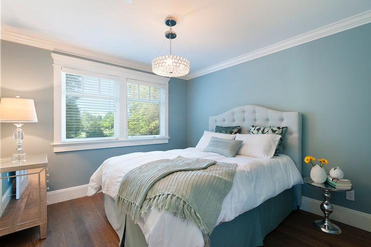 Turquoise And Black Bedroom Contemporary Bedroom