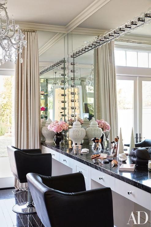Interior design inspiration photos by Architectural Digest. on Make Up Room Design  id=16920