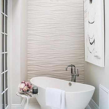 wavy tiles design ideas