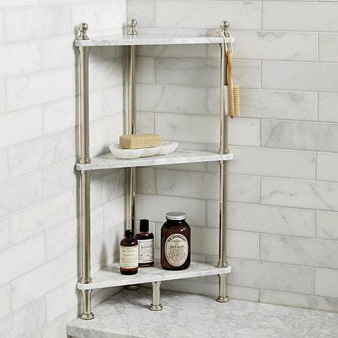 25 Lastest Marble Bathroom Shelves