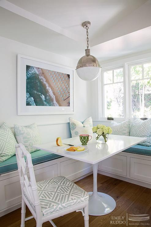 Window Seat Banquette Cottage Dining Room Andrew