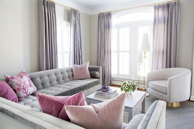 Soft Pink Paint Light For Living Room Walls